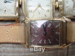 10 Vintage BULOVA Watches For Parts