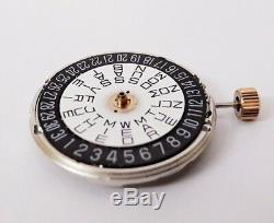 100% Rare Rado Automatic Silver Movement 2836, 25 Jewels, Swiss Made mens