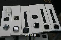 #12 Lot Of 6 Apple Watches Series 6 Gps Only Act Lock Diffent Models Read