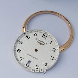 18k gold plated watch repair parts for fix watch case kit FIT 2892 movement