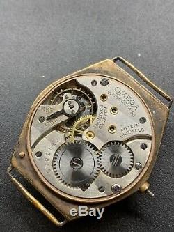 1920s Omega 26.5 Sob Project Spares Repair