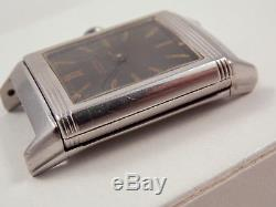 1930's Reverso Standard (Jaeger-LeCoultre)watch running for parts or restoration