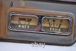 1940 Vintage Original Ford Mercury Waltham SPEEDOMETER Gauge Dash Cluster