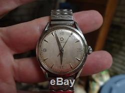 1950's Vintage Omega Watch Ref 2667-4 SC Cal 420 Rare For parts or repair