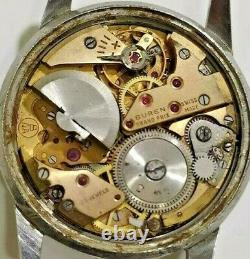 1960's BUREN GRAND PRIX SUPER SLENDER MICRO ROTOR Cal. 1000A Vintage Watch