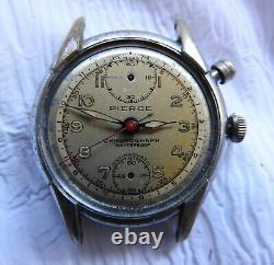 2 Register Project Pierce Chronograph Pilots Watches For Repair Parts 2 Button