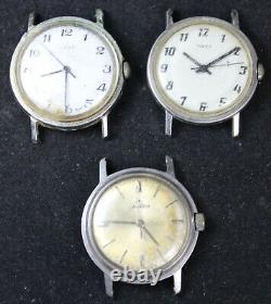 (20) Mens Watch Lot for Parts/Repair Timex Caravelle Diantus Vintage