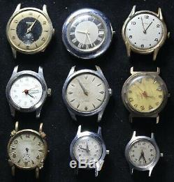 (20) Mens Watch Lot for Parts/Repair Timex Elgin Vintage Lot #1