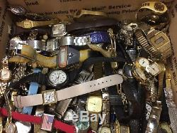 200 Vintage & Other Watches Mix Lot For Repair/Parts Used Condition (#GL198)