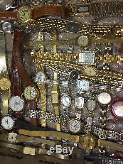 200 Vintage & Other Watches Mix Lot For Repair/Parts Used Condition (#GL199)