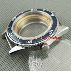 41mm Ceramic bezel watch Case fit ETA 2836, DG2813/3804, Miyota 8205/8215 P643
