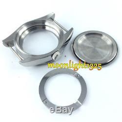 41mm sapphire glass Watch Case + dial + hand fit ETA 2824 2836 MOVEMENT