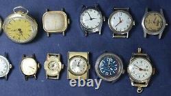 (50) Mid-Size & Ladies Watch Lot for Parts/Repair Vintage Lot #2