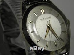 60s 10k Gf Lecoultre Mens 17j Watch Caliber 810/aw Ser# 966642 Runs 14k Crown