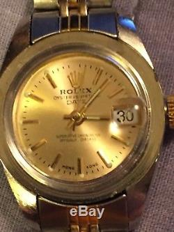 7 WATCHES NOT WORKING FOR PARTS/REPAIR Rolex, Omega, Tiffany, Invicta & More