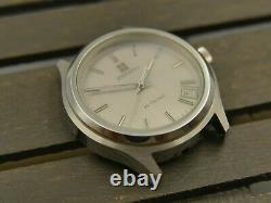 70's vintage watch mens Zenith XL-TRONIC 01-0120-500 electronic for repair parts