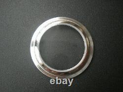 A 36mm Fluted Bezel Drilled Through Lug Watch Case No Cyclop Fit Eta2824 Nh35/36
