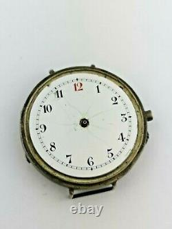 A Large WWI Era Sweep Seconds Unusual Trench Watch for Restoration (A95)