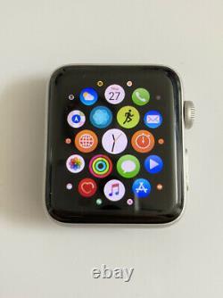 AS IS Apple Watch Series 2 42mm Aluminum Case Silver (MNPJ2LL/A)