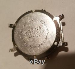 ASIS VINTAGE 240 CASIO G-SHOCK DW-5000 WATCH not working collectible/part/repair
