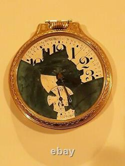 Antique Hamilton 992b Pocket Watch 1ok Goldfilled Case For Parts Or Repair