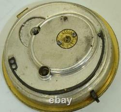 Antique Thomas Newman Verge Fusee pocket watch movement. A project for repair