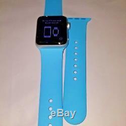 Apple Watch Nike+ Series 3 (GPS), 38mm Silver -cracked glass please read