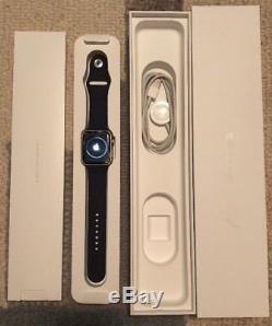 Apple Watch Series 2 42mm Gold Aluminum Case Cracked Screen (MNPN2LL/A)