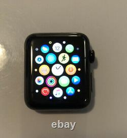 Apple Watch Series 2 42mm Stainless Steel Case Space Black (MP4A2LL/A)