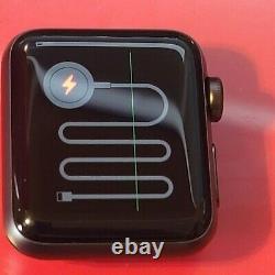 Apple Watch Series 3 38 mm Gray Case Black Aluminium Smartwatch MTF02LLA
