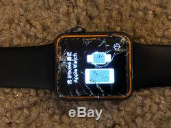 Apple Watch Series 3 38mm Gray- Cellular Cracked Screen