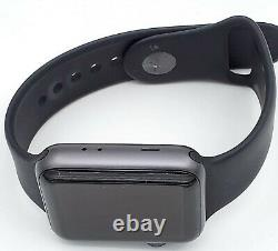 Apple Watch Series 3 42mm PARTS ONLY Gray Aluminum Case A1859 MQL02LL/A GPS ONLY