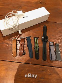 Apple Watch Series 3 Cellular+GPS w many bands Cracked Screen Free Ship