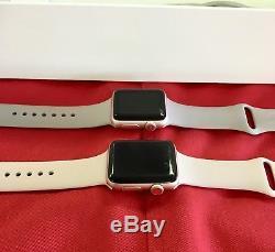 Apple Watch Series 3 Gps Cellular 42mm Gold Aluminum Case Pink