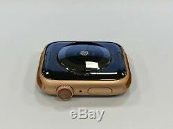 Apple Watch Series 4 44MM Rose Gold Aluminium Case Apple Account Locked! AS IS