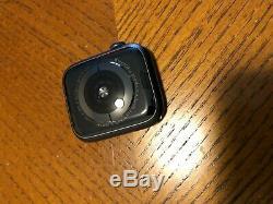 Apple Watch Series 4 44mm (GPS + Cellular) Black Aluminum Case Locked A1976