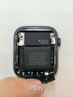 Apple Watch Series 4 GPS Black Aluminium&Ceramic 44mm A1978 NOT WORK READ DSC