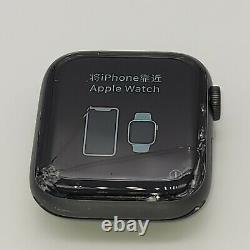Apple Watch Series 5 44mm Space Gray Aluminum GPS MWVF2LL/A-Cracked