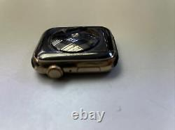 Apple Watch Series 5 Lte Stainless Steel 44mm Gold FAULTY plz Check Description