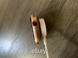 Apple Watch Series 5 ROSE GOLD GPS & Cellular 40mm Sprint Cracked Screen