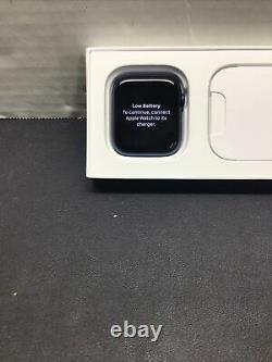 Apple Watch Series 6 44mm Blue Aluminum Case Deep Navy Smart Watch IC LOCKED