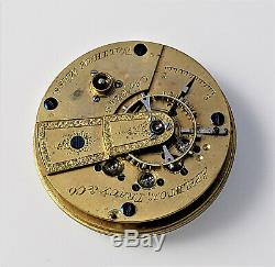 Appleton Tracy Pocket Watch Movement