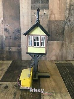 Aristocraft No. 7109 Watch Tower G Scale FOR PARTS/ REPAIR