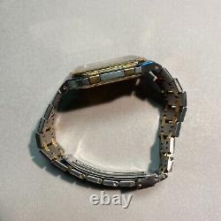 Audemars Piguet 6005 SA Gold/Steel Royal Oak Jumbo Rectangle ETA Movement
