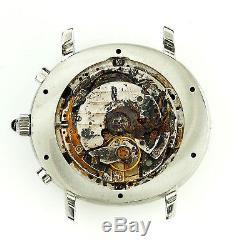 Audemars Piguet Millenary E8366 Silver Dial Chrono S. S. Watch For Parts/repairs