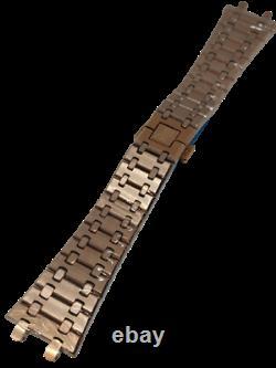Audemars Piguet Royal Oak 18K Rose Gold Bracelet 26mm Brand New BR. 1220.20. OR-M