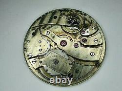 Audemars piguet & Co Brassus & Geneve Pocket watch movement For Parts