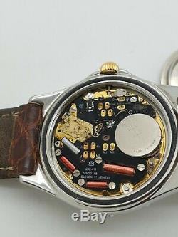 BREITLING Ladys Watch B62021 SIRIUS PERPETUEL Steel & 18K GOLD FOR PARTS ONLY