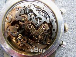 BREITLING Navitimer Cosmonaute 806 AOPA Gold Applied Chronograph Venus 178