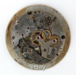 BREITLING original vintage VENUS 170 chrono movement for parts / repair (6004)